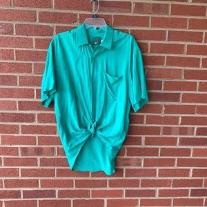 Jams World button down tie front top small